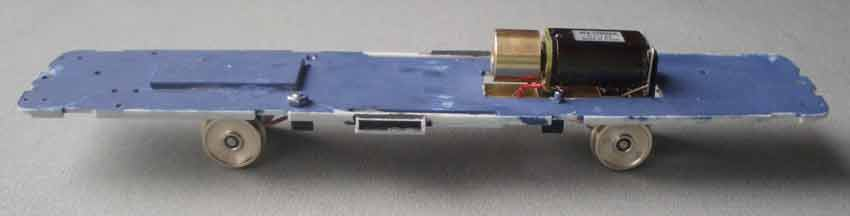 2 Axle motor bogie OO/HO gauge 78.5mm Railbus drive unit