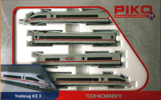 ICE 3 Electric Multipule Unit 4 Car Train Set