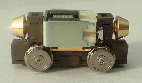 Halling Motorbogie OO/H0 Gauge 23-30mm wheelbase 10mm dia disc